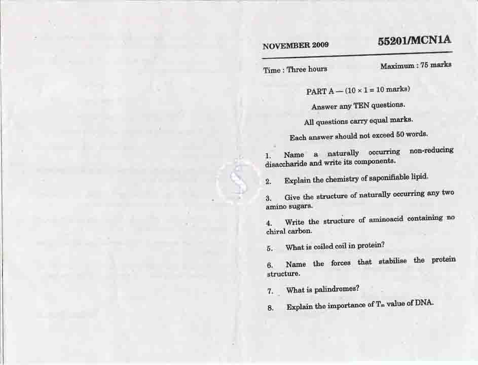 madras university m.com question papers with answers pdf
